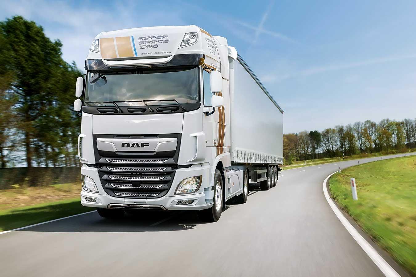 DAF Trucks пуска на пазара Celebration Edition на Super Space Cab
