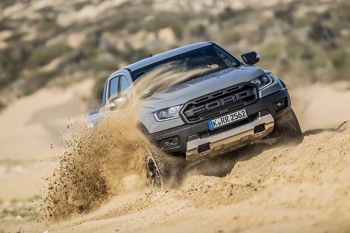 Внушителният Ford Ranger Raptor пристига в България