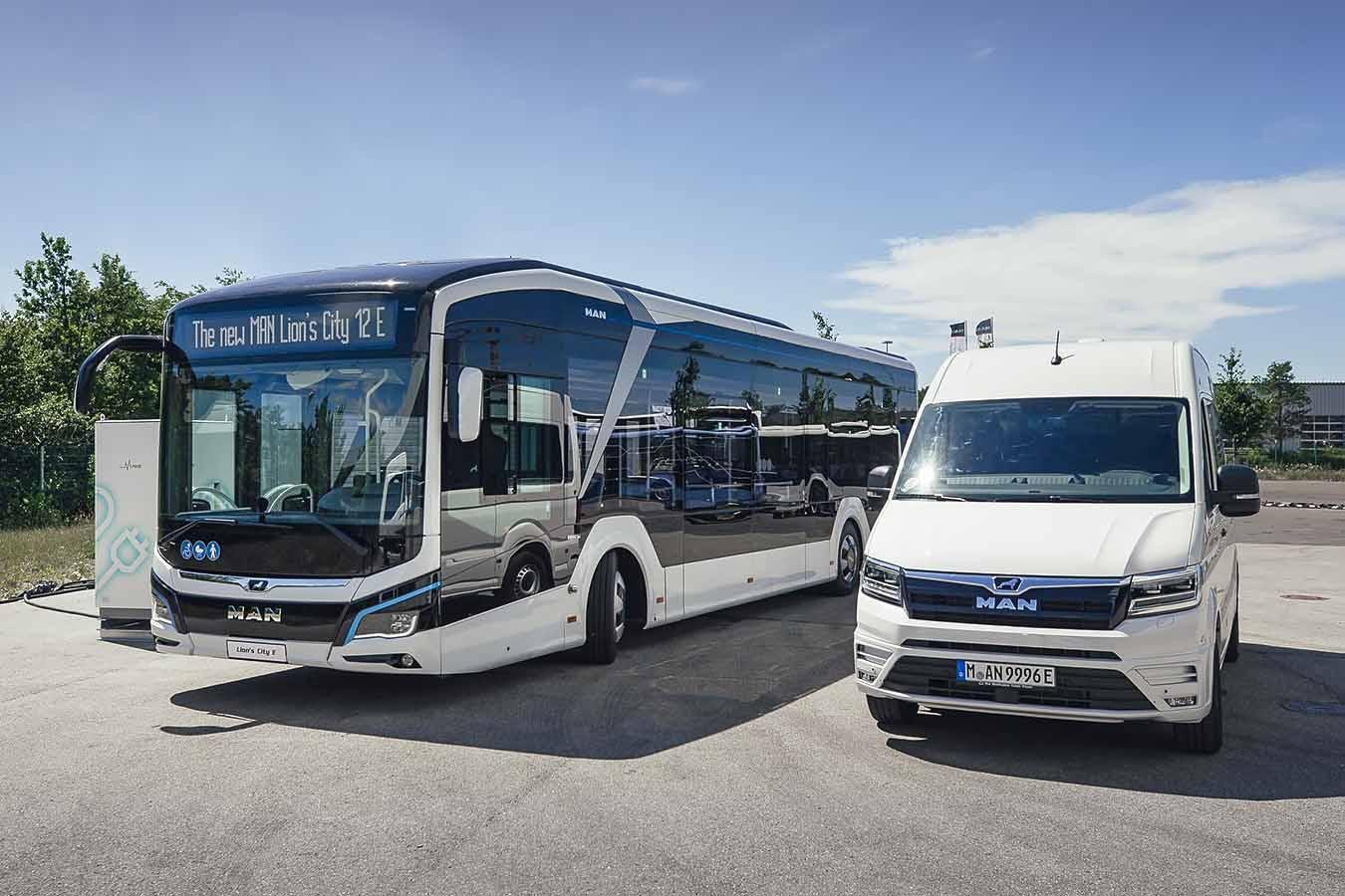 MAN Truck & Bus с нови предложения на VDV ElekBu 2020