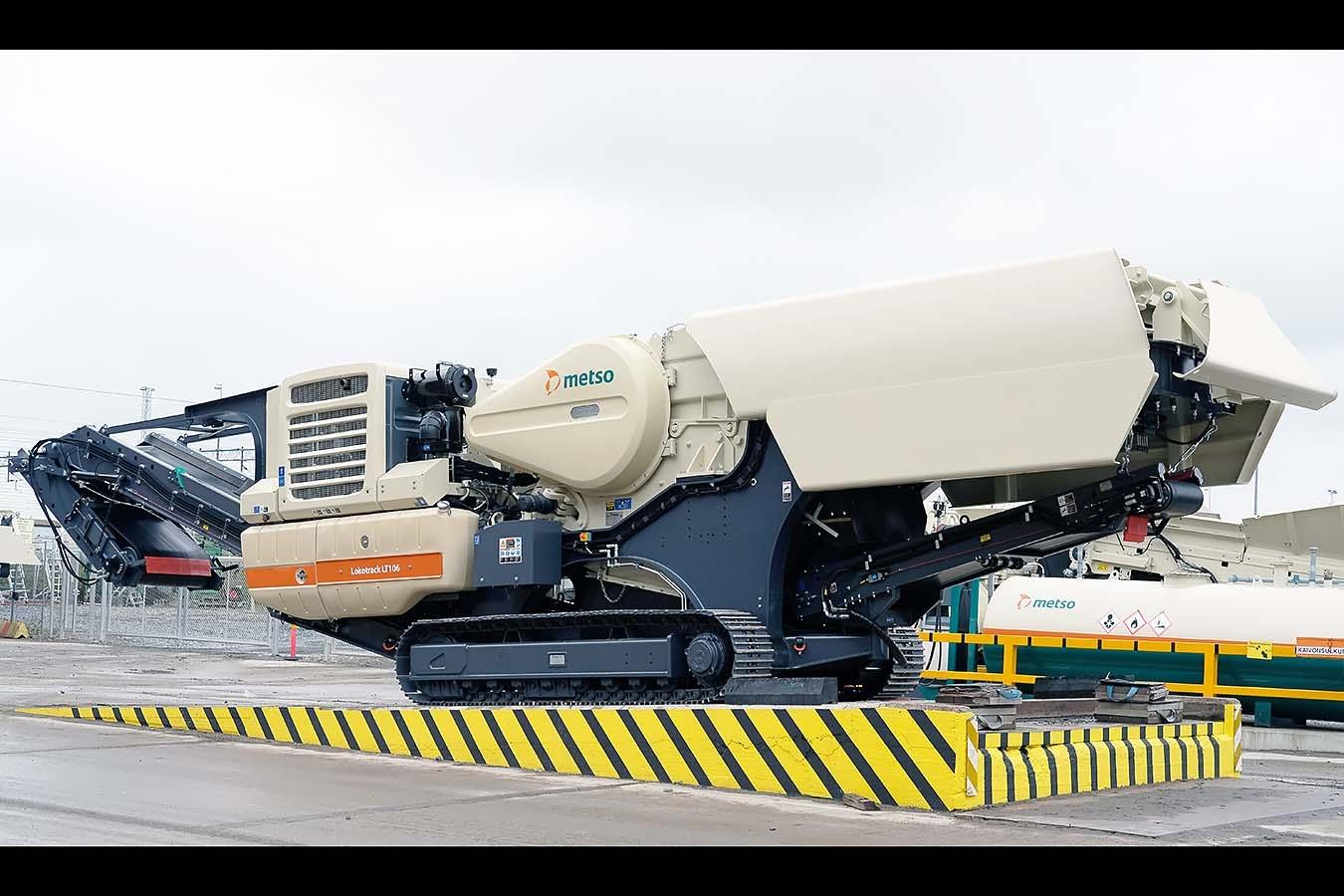 Машините Metso ще работят при -40°C в Антарктида