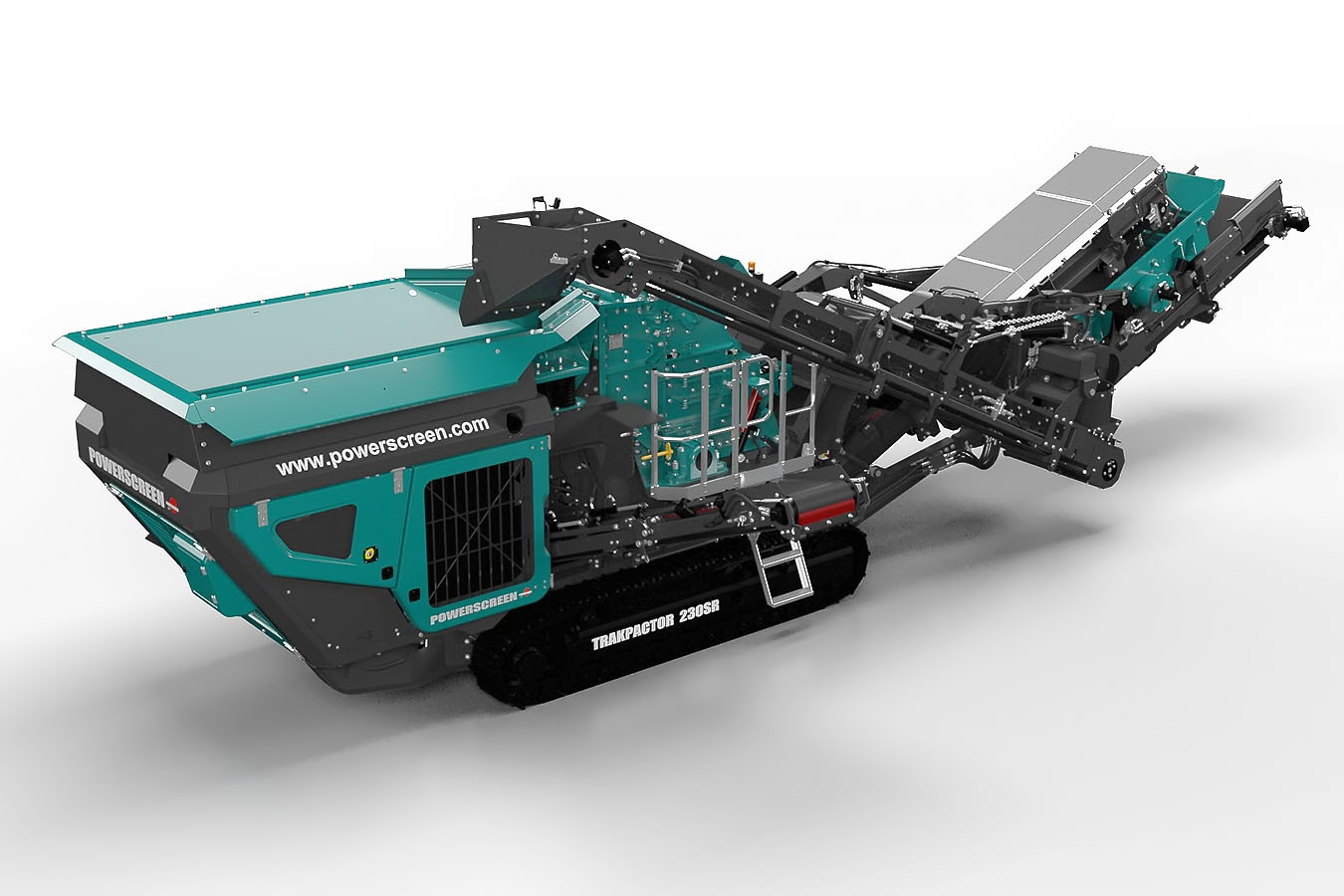 Премиера на Powerscreen Trakpactor 230