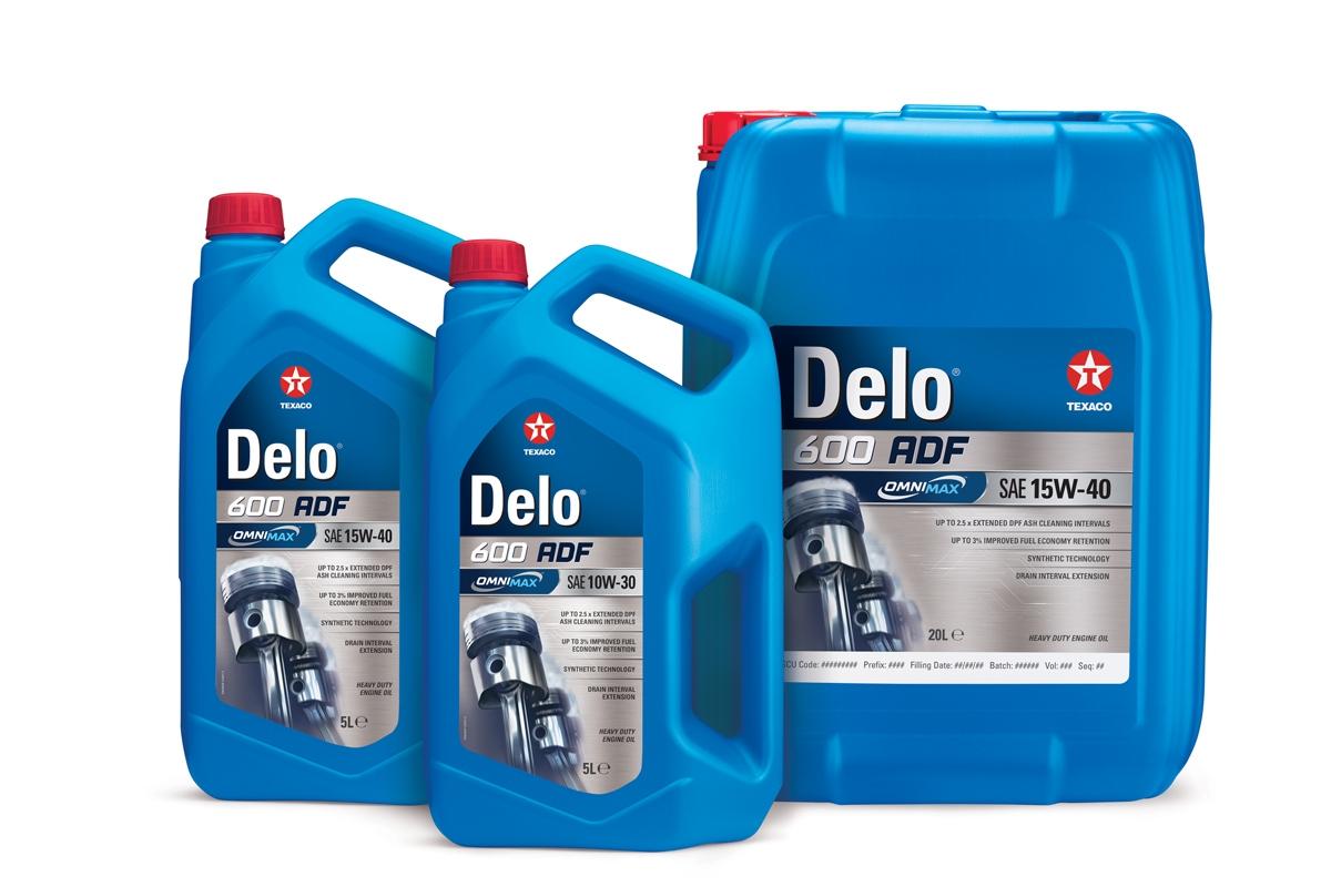 Texaco Delo® 600 ADF с патентована технология OMNIMAXTM